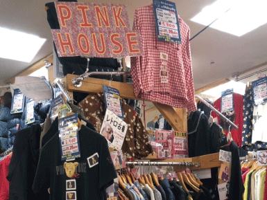 pinkhouseレディースブランド