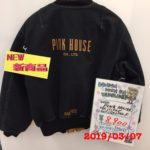 【レディース】PINK HOUSE バックロゴ ブルゾンジャケット