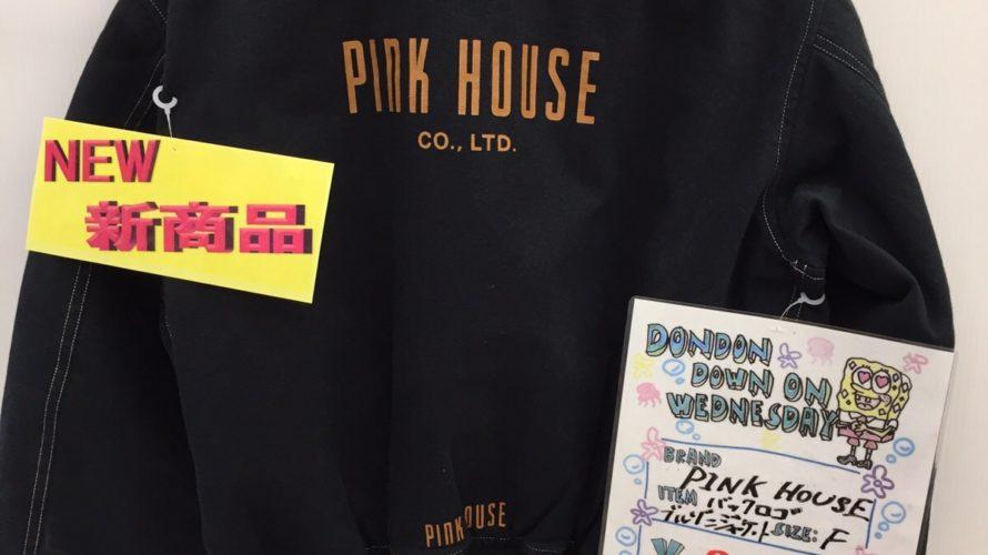 PINK HOUSEバックロゴ・ブルゾンジャケット