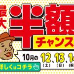 【セール】1年で一番安い!最大50%OFF!?