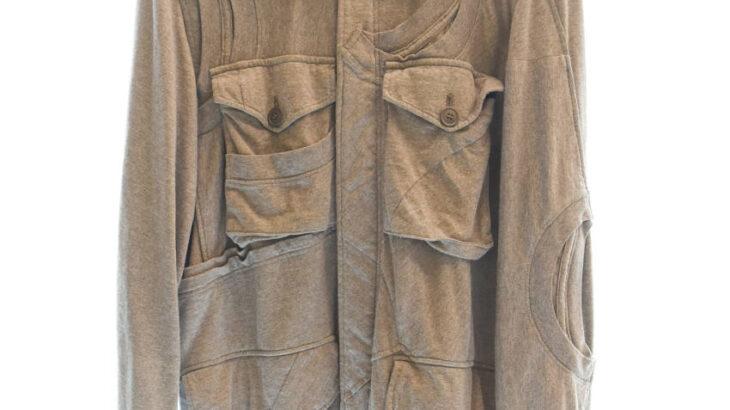 【新入荷!】UNDERCOVER 05SS But Beautiful期 再構築 ドッキング スウェット M-65 ミリタリー ジャケット