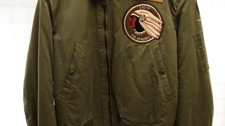BUZZ RICKSON'S バズリクソンズ ROUGHWEAR CLOTHING CO. 345th Bomberdment Group B-15 ジャケット BR11306 38 入荷!