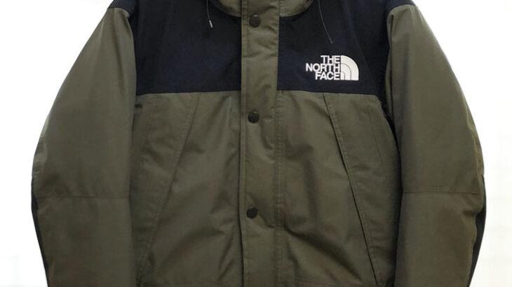 【NORTH FACE特集】第三弾  MOUNTAIN DOWN JACKET マウンテン ダウン ジャケット ND91930