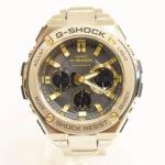 CASIO カシオ G-SHOCK ジーショック G-STEEL ジースチール 腕時計 GST-W110D シルバー 入荷!