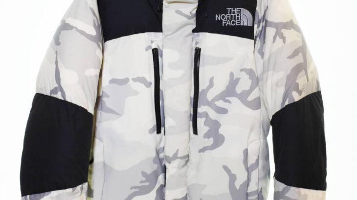THE NORTH FACE ザノースフェイス NV BALTRO LT JK ノベルティバルトロライトジャケット ND91720 M 白 ホワイト カモフラ柄 入荷!