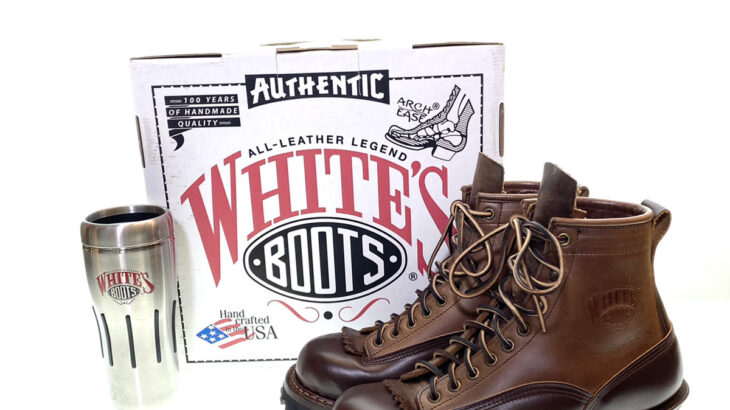 WHITE'S BOOTS Smoke Jumper LTT Brown x Natural Chromexcel ツートン ブーツ 入荷!