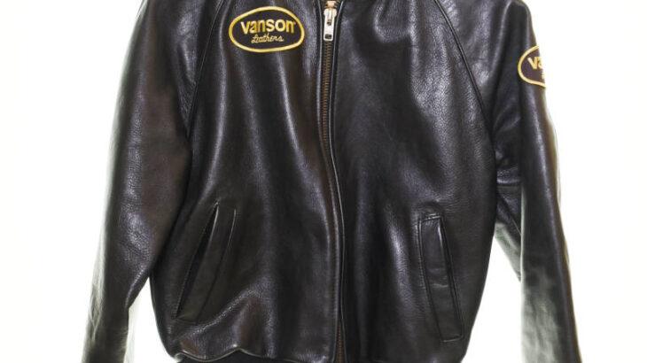VANSON バンソン レザージャケット 7318 0 02 size38 黒 ブラック  入荷!